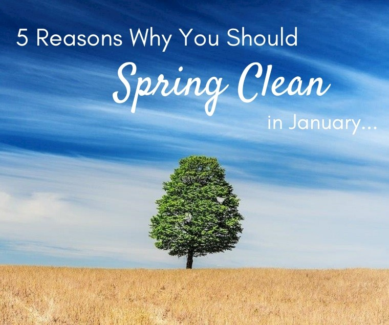 5 Reasons Why You Should Spring Clean in January