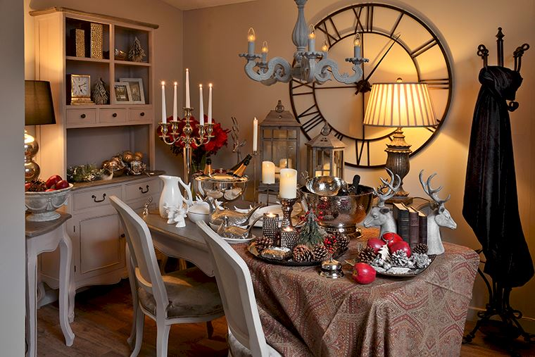 Inspirations: Christmas Dining Table
