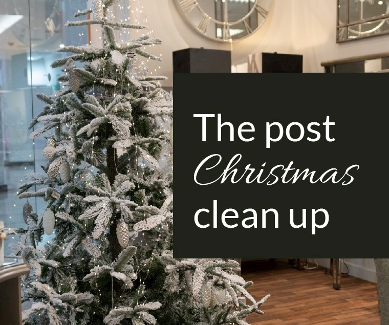 The Post-Christmas Clean Up…