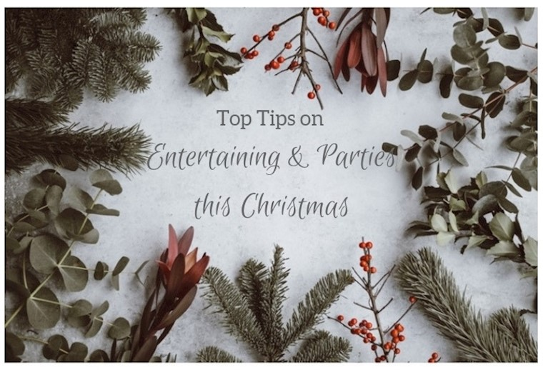 Top Tips on Entertaining & Parties this Christmas