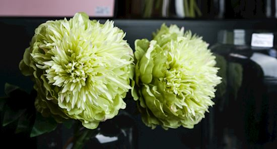 Green Artificial Flowers