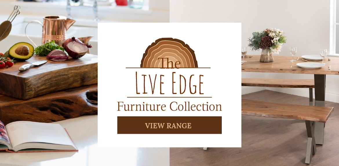 Live Edge Furniture Range