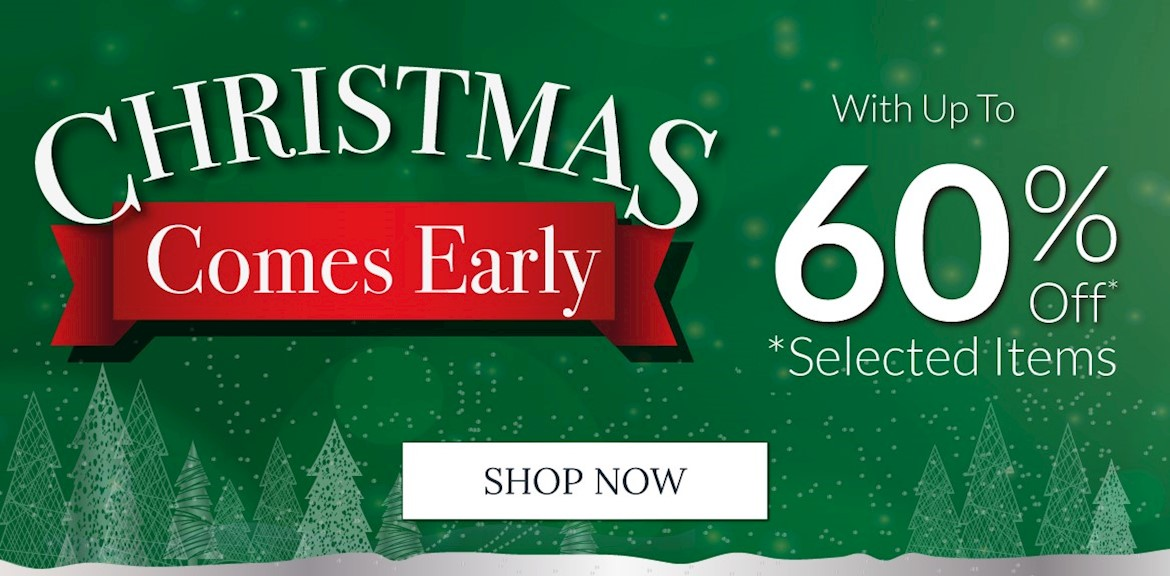 Christmas Comes Early Sale
