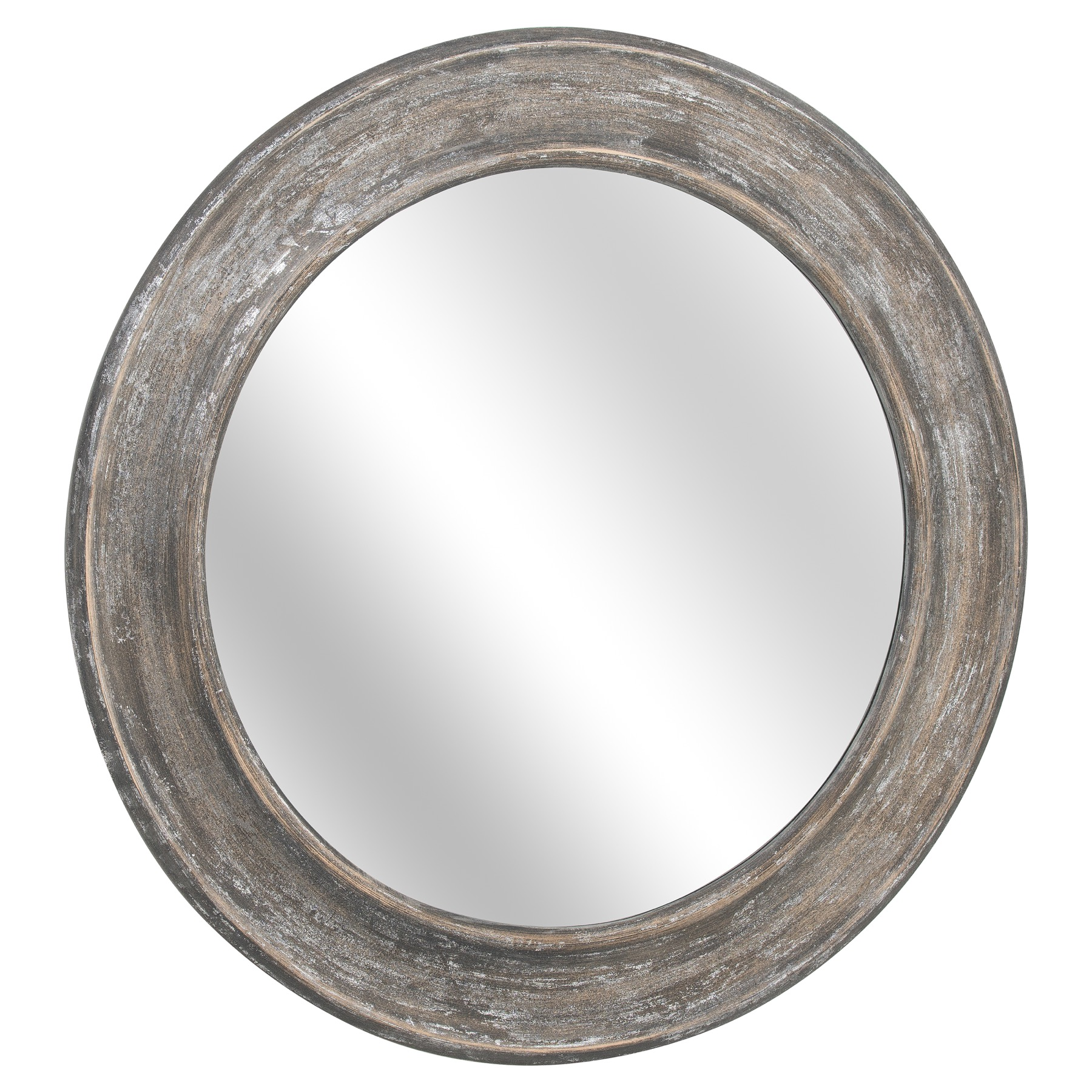 Large Laurel Antique Metallic Wall Mirror From Baytree Interiors