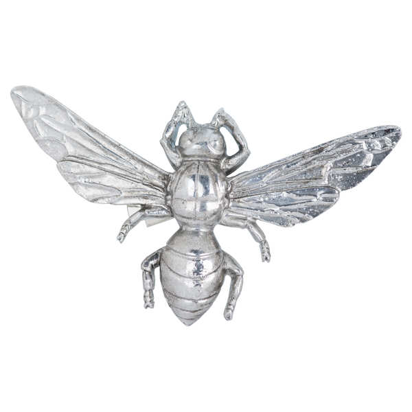 Antique Silver Bumble Bee Decorative Clip