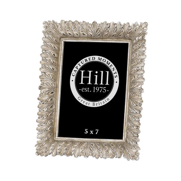 Antiqued Feather Effect Style  Photo Frame 5X7