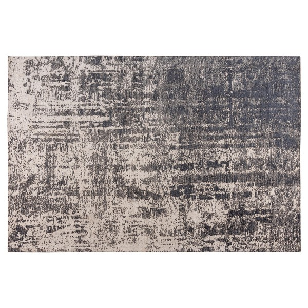 Aria Large Abstract Grey Rug