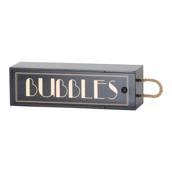 Art Deco 'Bubbles' Champagne Box
