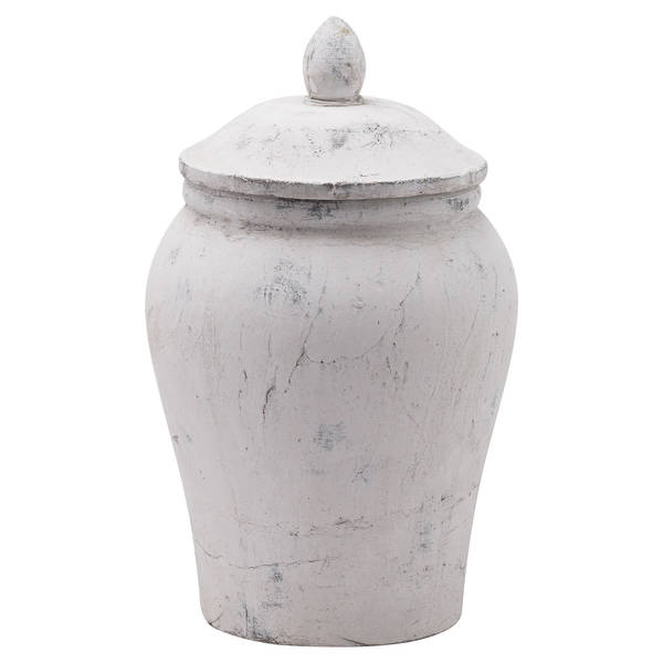 Bloomville Stone Ginger Jar