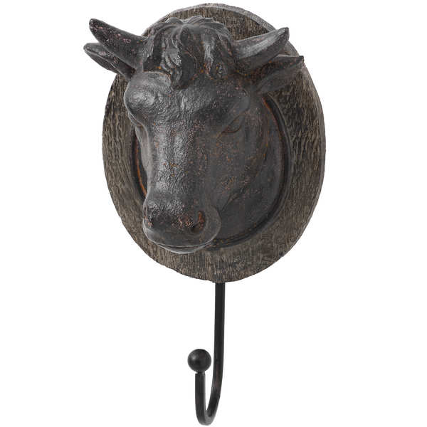 Cow Head Coat Hook