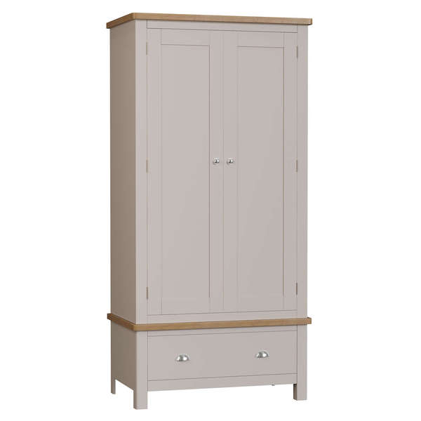 Dales Collection Double Wardrobe