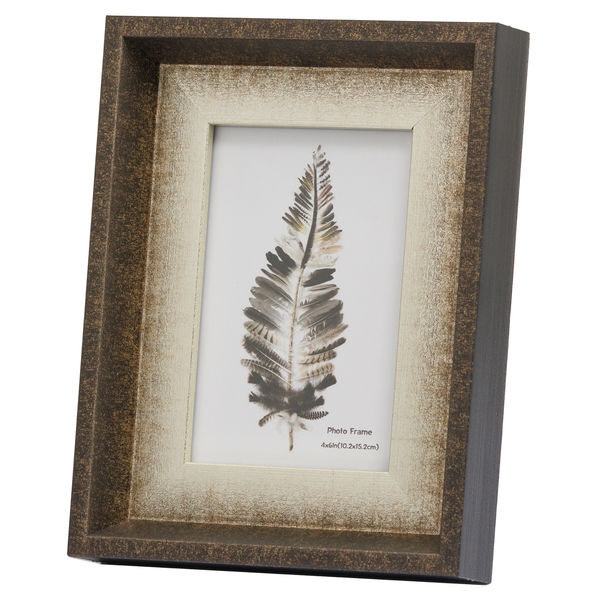 Dorchester 4X6 Photo Frame With Silver Inlay