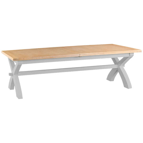 Easby Collection Grey 2.5M Cross Extending Table