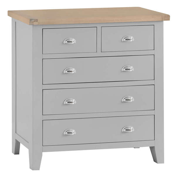 Easby Collection Grey 2 Over 3 Chest