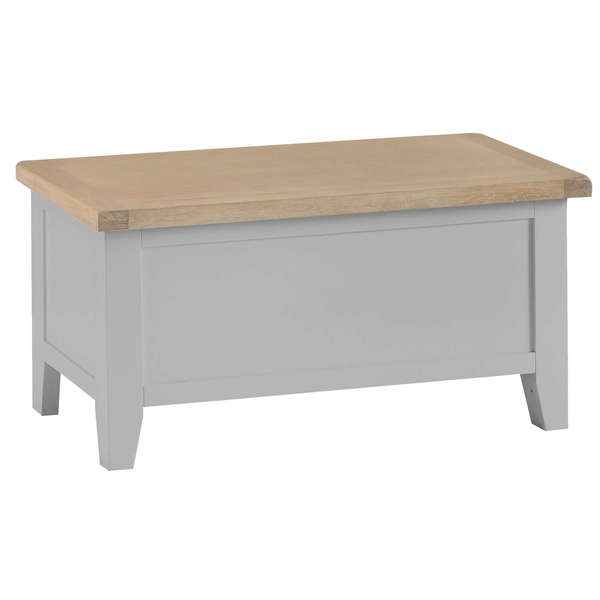 Easby Collection Grey Blanket Box