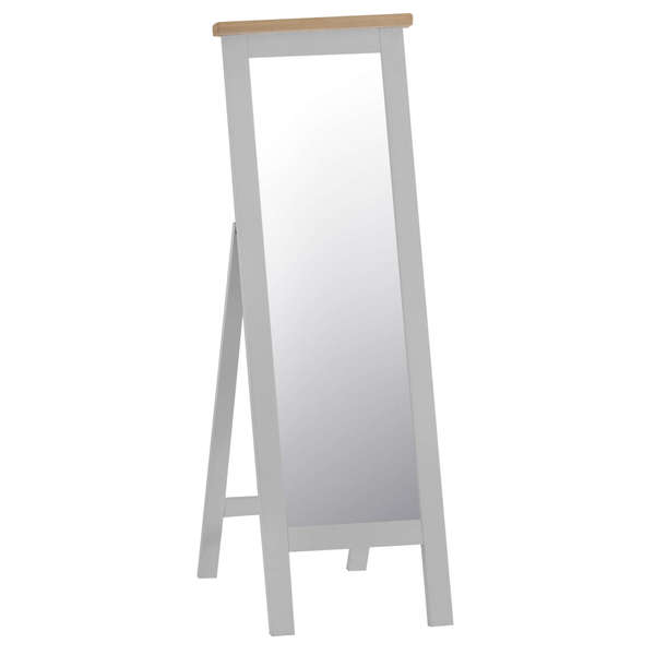 Easby Collection Grey Cheval Mirror 150 x 50 cm