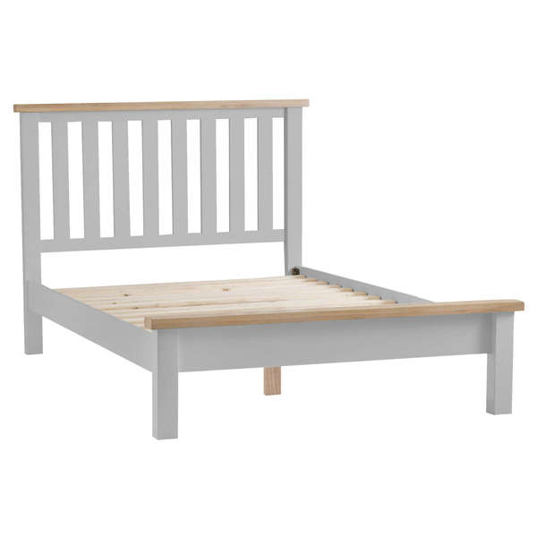 Easby Collection Grey Double Bed Frame