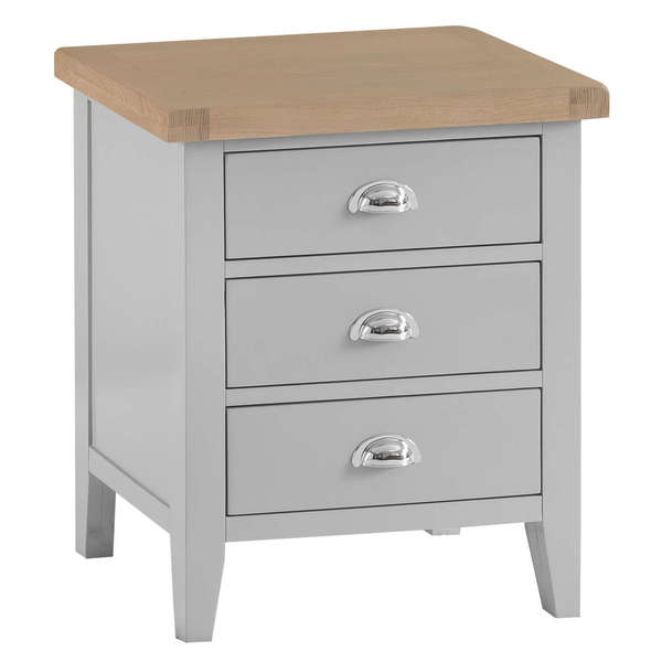 Easby Collection Grey Extra Large Bedside