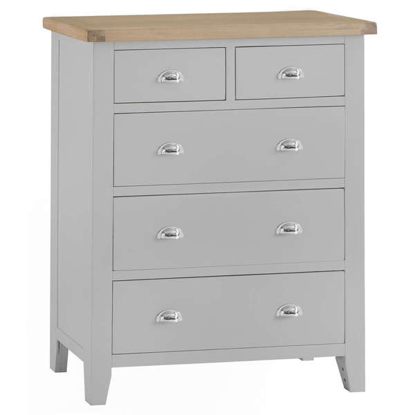 Easby Collection Grey Jumbo 2 Over 3 Chest