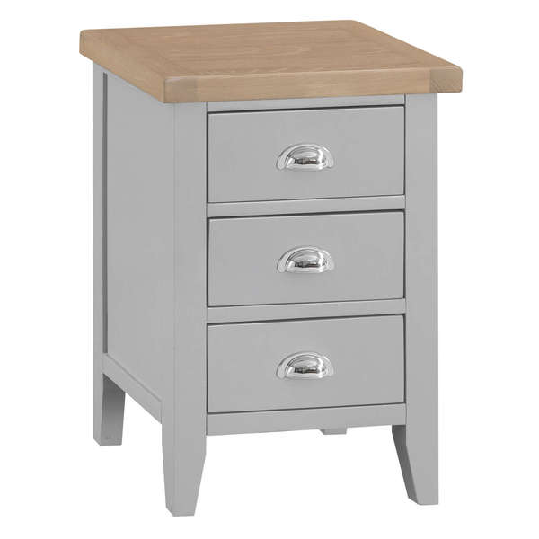 Easby Collection Grey Large Bedside