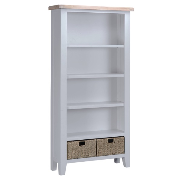 Easby Collection Grey Large Bookcase