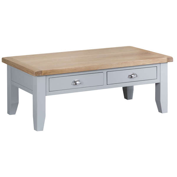 Easby Collection Grey Large Coffee Table