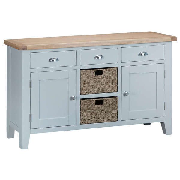 Easby Collection Grey Large Sideboard