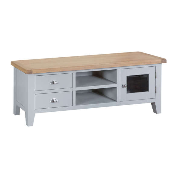 Easby Collection Grey Large TV Unit