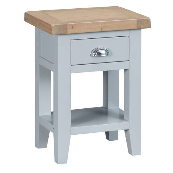 Easby Collection Grey Side Table