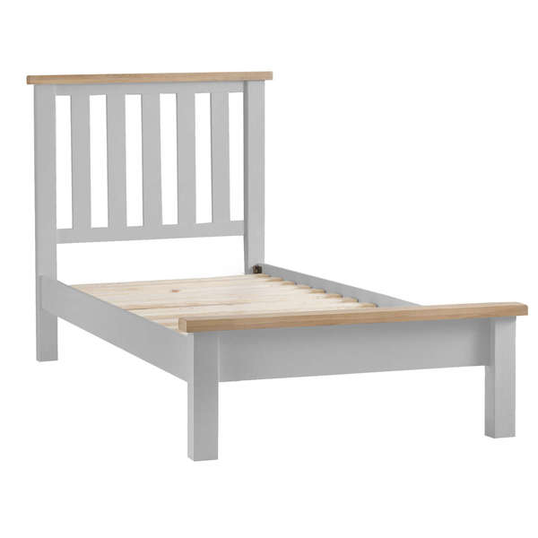 Easby Collection Grey Single Bed Frame