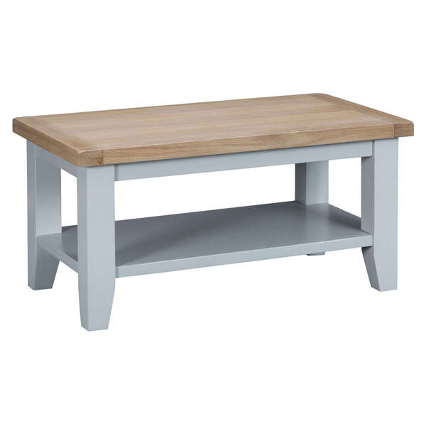 Easby Collection Grey Small Coffee Table