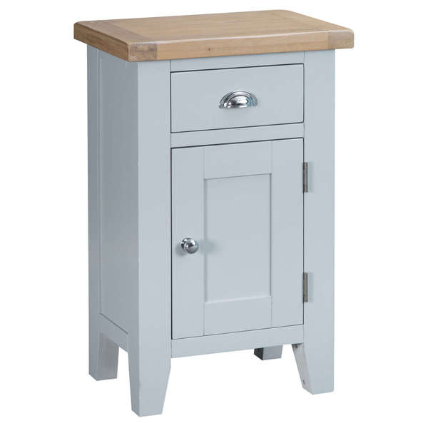 Easby Collection Grey Small Cupboard