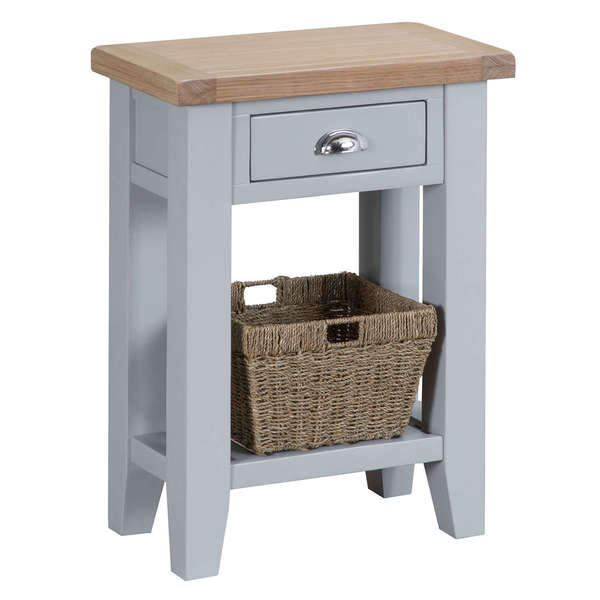 Easby Collection Grey Telephone Table