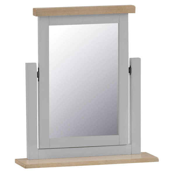 Easby Collection Grey Trinket Mirror