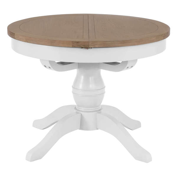 Easby Collection White 1.1M Round Table White