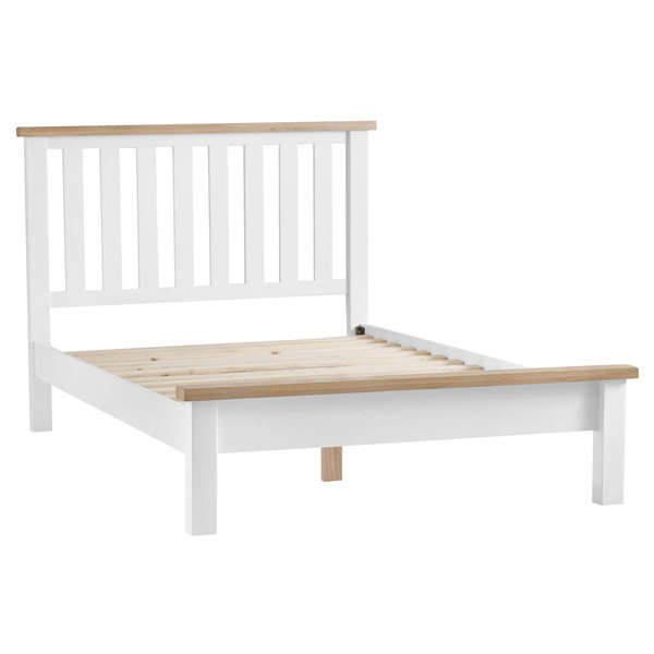Easby Collection White King-size Bed Frame