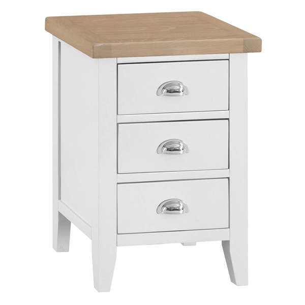 Easby Collection White Large Bedside