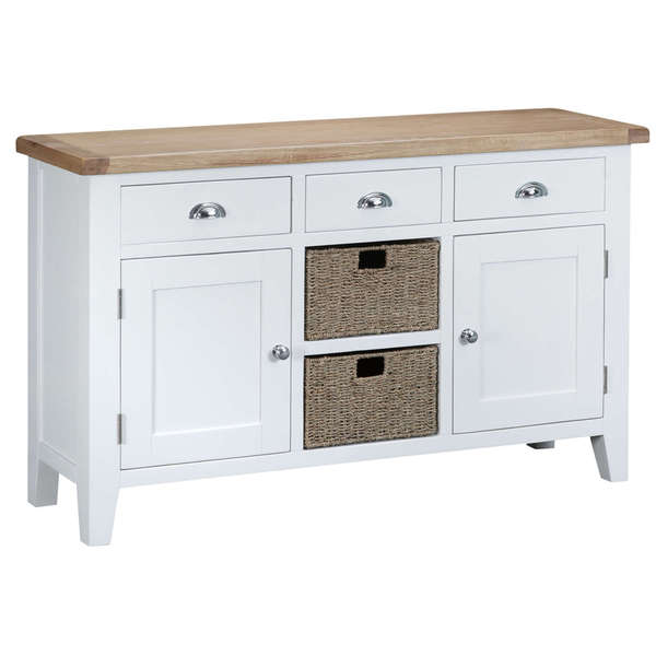 Easby Collection White Large Sideboard