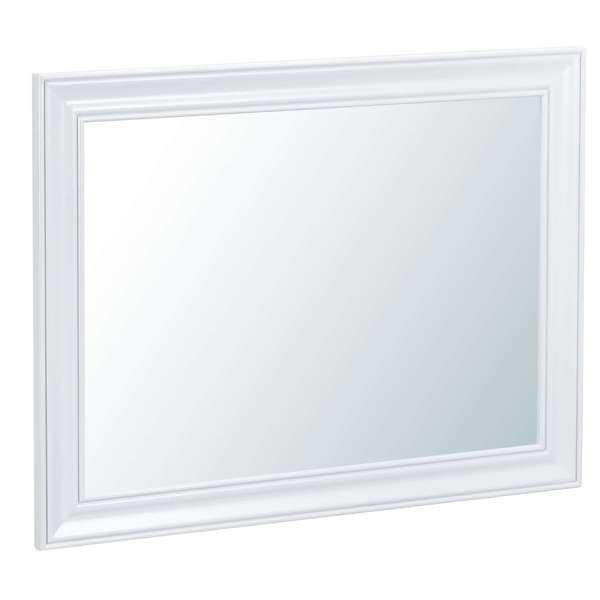 Easby Collection White Large Wall Mirror