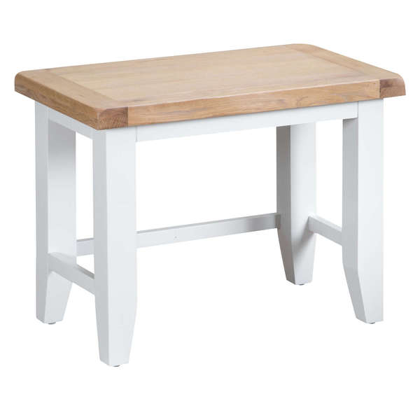 Easby Collection White Nest of 3 Tables