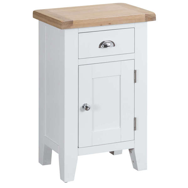 Easby Collection White Small Cupboard