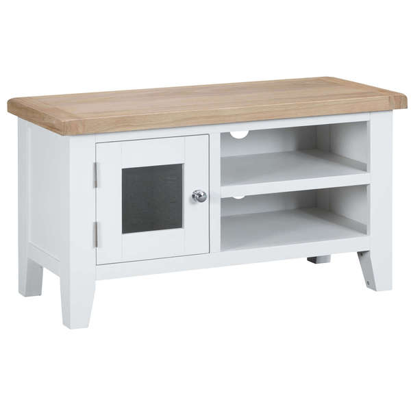 Easby Collection White Standard TV Unit
