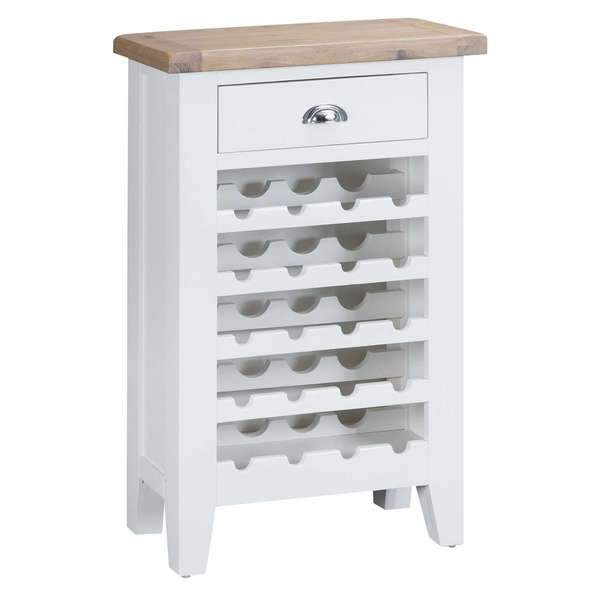 Easby Collection White Wine Cabinet