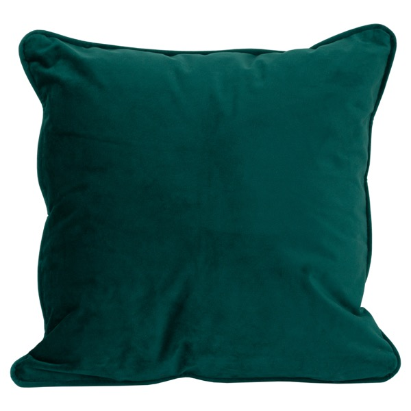 Emerald Green Velvet Cushion 40x40cm