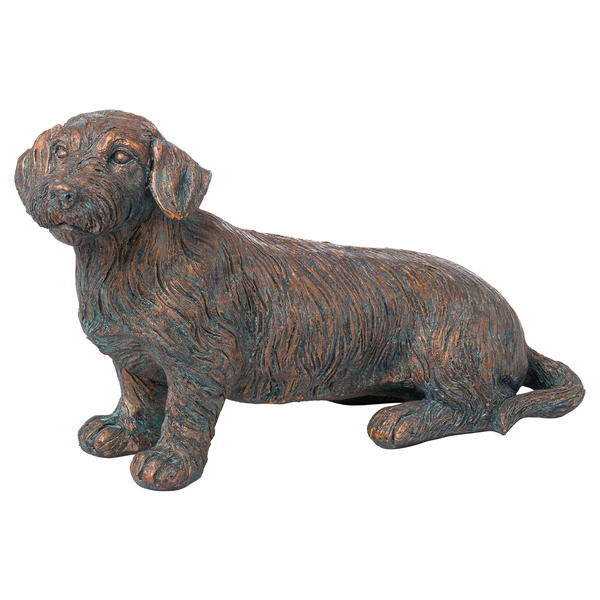Eric The Wire Haired Dachshund Ornament