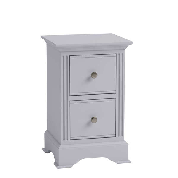 Essentia Collection Grey Bedside Cabinet