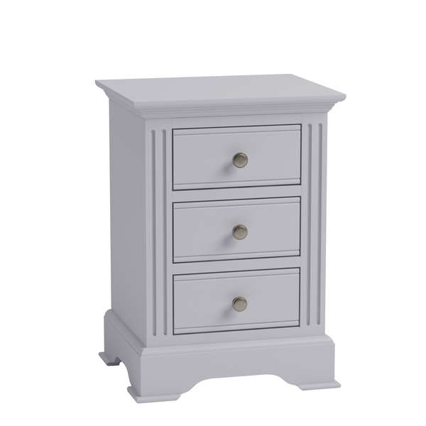 Essentia Collection Grey Large Bedside Cabinet