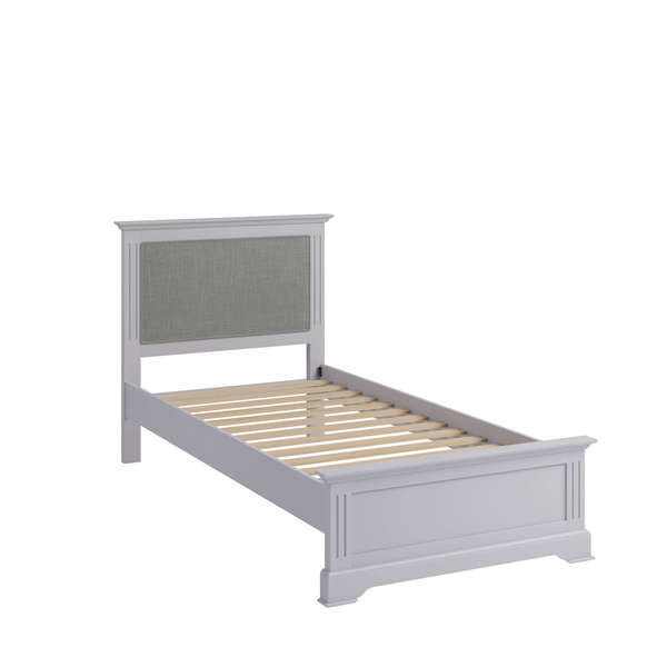 Essentia Collection Grey Single Bed Frame