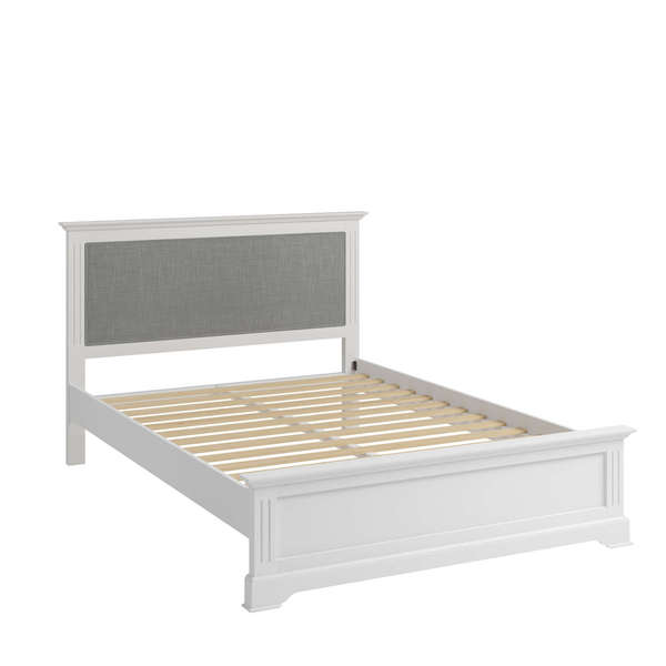 Essentia Collection White King-size Bed Frame