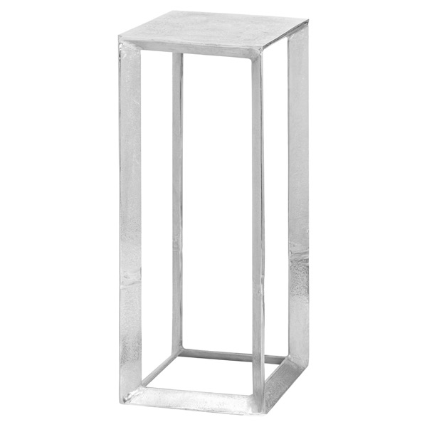Farrah Collection Silver Plant Stand